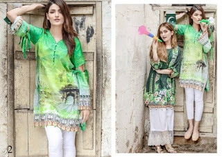Azadi-digital-printed-cotton-and-silk-kurti-2017-for-girls-by-al-zohaib-4