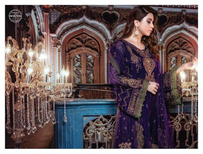 Maria.b-mbroidered-eid-collection-2017-embroidered-dresses-1