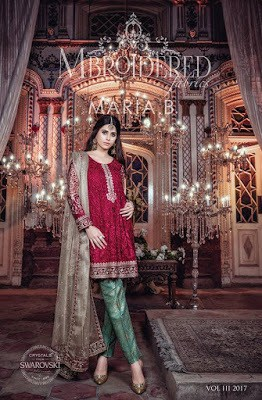 Maria.b-mbroidered-eid-collection-2017-embroidered-dresses-2
