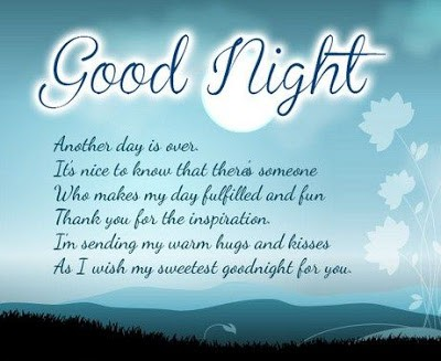good night wishes for your lover