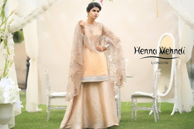 Beige Embroidered Cape Outfit