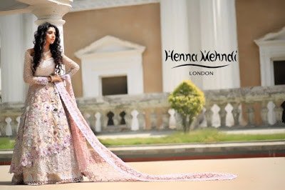 Light Pink Swarovski Crystal & Diamante Embroidered Bridal Outfit (1)