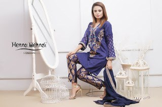 Navy Pearl & Diamante Embroidered Outfit
