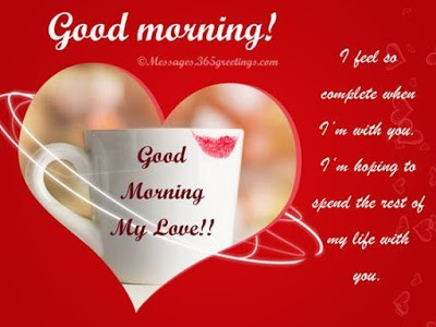 Good Morning Messages and Phrases with Love Wishes