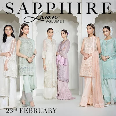 spphire spring-summer lawn collection-2018