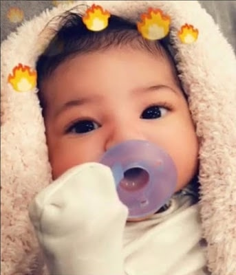 Travis Scott and Kylie Jenner Finally Unveil the Face of Their Daughter Stormi