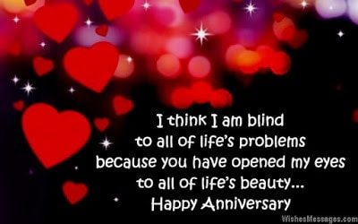 Wedding anniversary messages from wife to husband