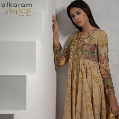 Alkaram 2 piece digital dupatta collection