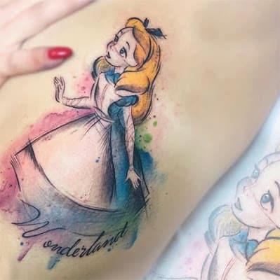 alice-in-wonderland-tattoo
