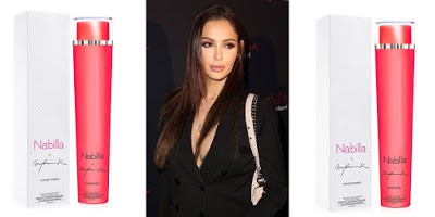 nabilla shampoo launch