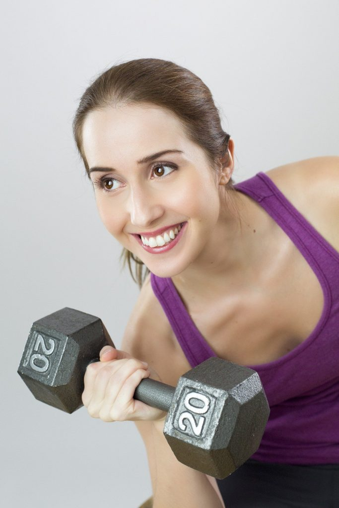 Exercise to increase breasts