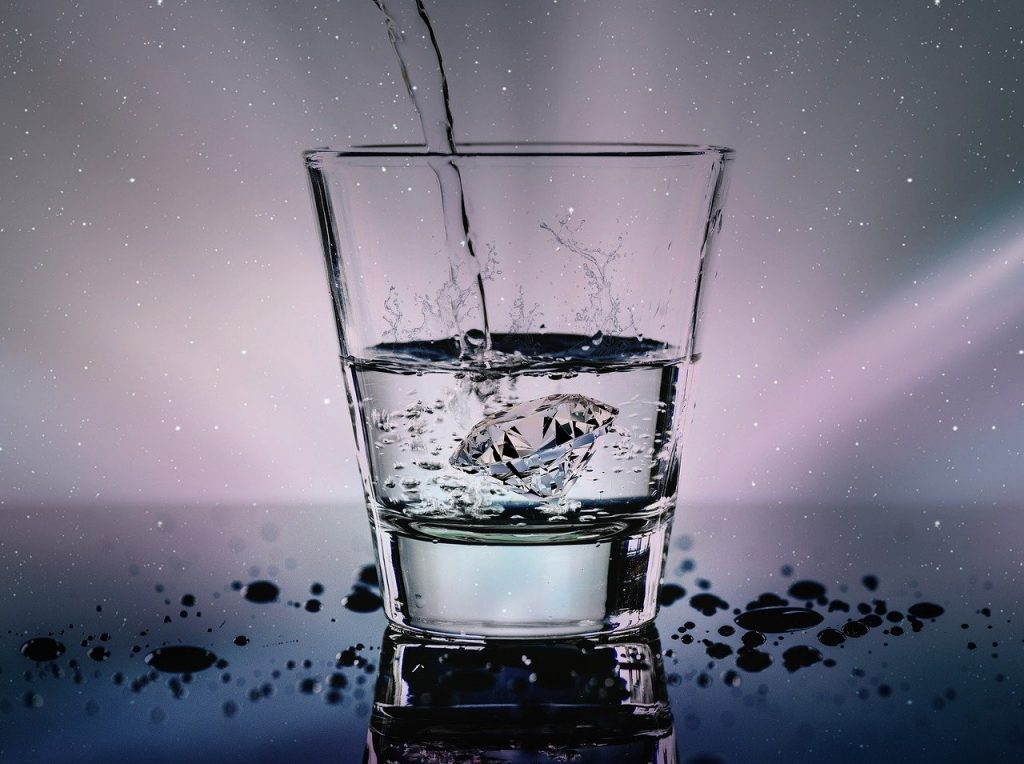 Diamond water test