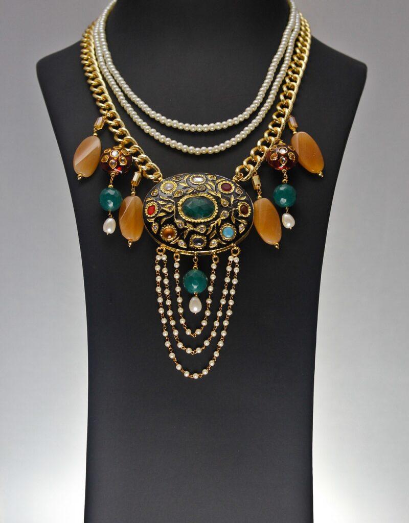 layered jewelry
